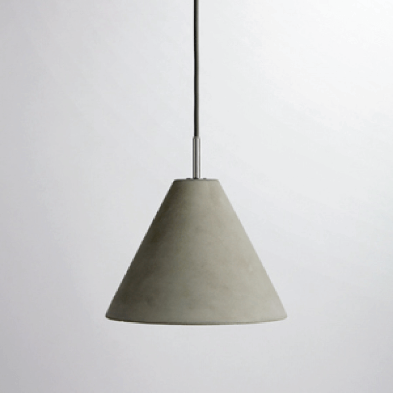 CASTLE PENDANT CONE LAMP
