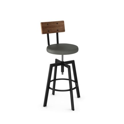 Amisco Architect Swivel Stool
